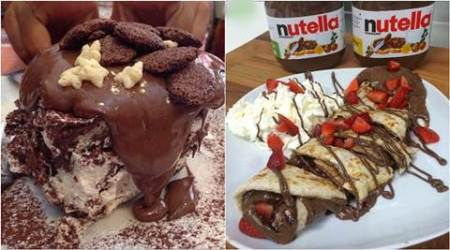 italy, desserts, naples, nutella, nutella recipes, nutella desserts, recipe for nutella, italy food, naples food, nutella pancake recipe, nutella crepe recipe, food, recipe, indian express