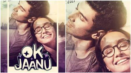 OK Jaanu new poster: Aditya Roy Kapoor and Shraddha Kapoor's film might be a relief after Befikre