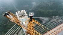This man scaled the tallest bridge in the world to propose to his girlfriend