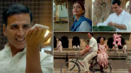 Watch PadMan trailer: Akshay Kumar's latest film tackles menstrual hygiene