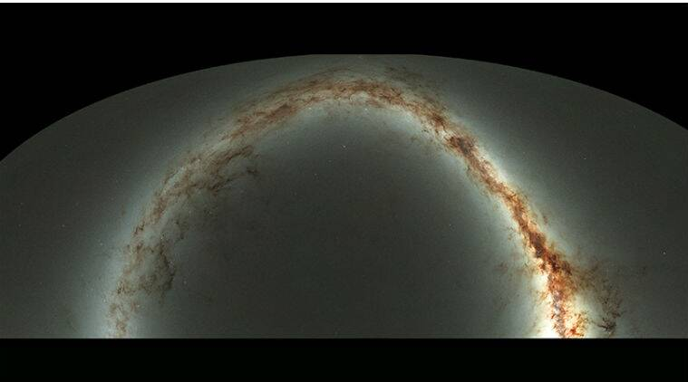 universe, universe digital survey, digital survey visible universe, stars, galaxies, pan starrs observatory,  Andromeda galaxy, night sky map, science, science news