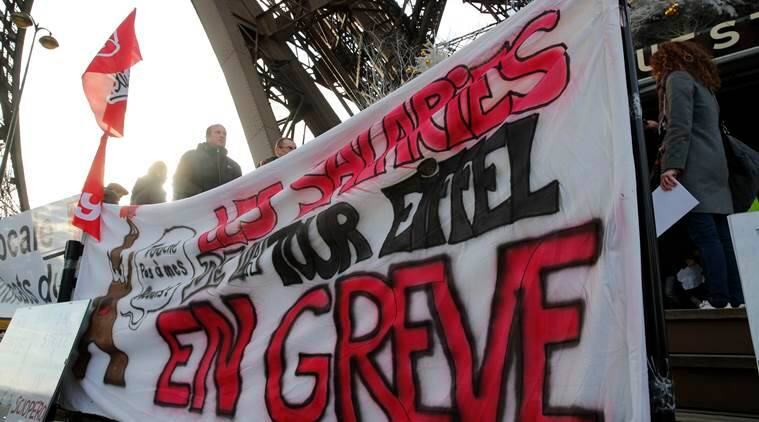 Eiffel Tower, Eiffel Tower reopens, Eiffel Tower workers protest, Eiffel Tower closed. latest news, latest world news, paris, Eiffel Tower paris