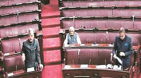 On working day, only 23 MPs in Rajya Sabha