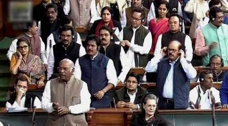 parliament, winter session, parliament updates, winter session updates, lok sabha adjourned, demonetisation parliament, opposition demonetisation protest, ghulam nabi azad, rahul gandhi, parliament demonetisation, demonetisation protest, india news