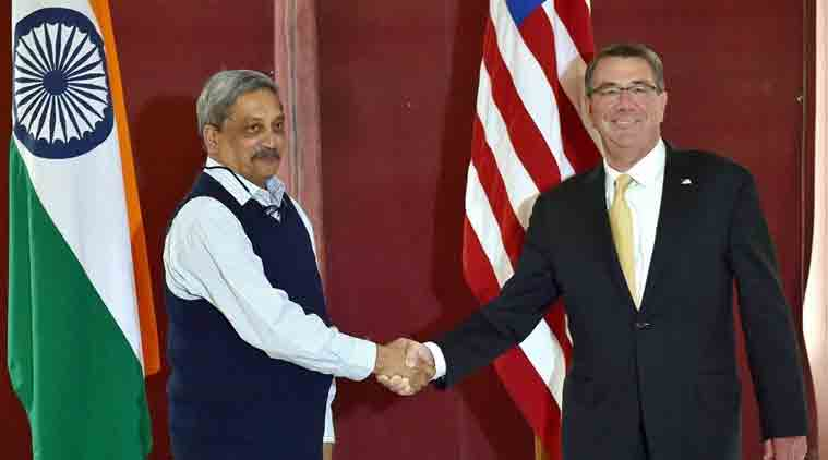indo-us, indo-us defence deal, india US major defence agreement, India US defence partner, manohar parrikar, american defence secretary ashton carter, bilateral defence cooperation, indo-us defence partnership, India US relation, india news, World news