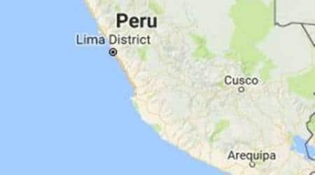 Peru earthquake, ring of fire, peru, lima, earthquake in peru, quaike kills in peru, natural disaster, natural disaster peru, world news, indian express news