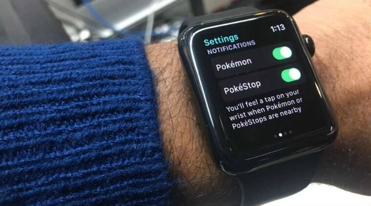 Apple, Apple watch, pokemon GO, Pokemon go for apple watch, pokemon go launched for apple watch, how to play pokemon go on apple watch, Pokemon go apple watch functions, pokemon go india, mobile gaming, technology, technology news