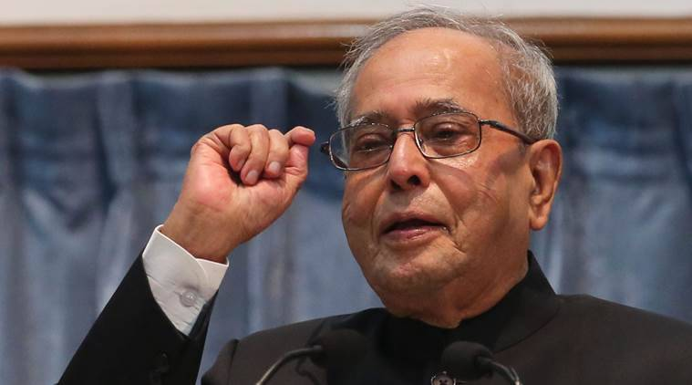 pranab mukherjee, pranab, president pranab mukherjee, union budget, budget 2017, president address parliament, indian express, india news