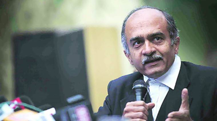 Supreme Court, Prashant Bhushan, Income Tax raids, Narendra Modi-bribery allegations, Bhushan-NGO, India news, Indian Express