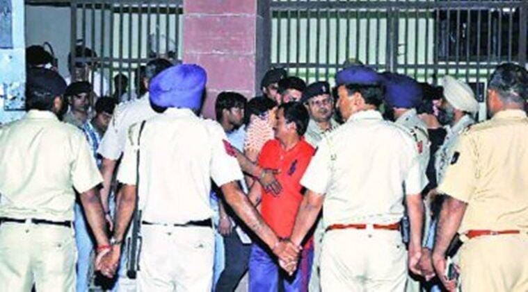 Chandigarh local court, local court Chandigarh, court Chandigarh, Chandigarh court, Chandigarh robbery, Chandigarh security guards robbed, robbery of security guards, security guards robbed in Chandigarh, Chandigarh, Indian Express