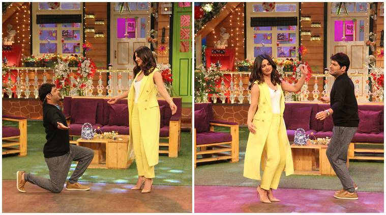 Priyanka Chopra, Priyanka Chopra kapil sharma show, Priyanka Chopra kapil sharma, Priyanka Chopra Sarvann, Sarvann Punjabi production, The Kapil Sharma Show, priyanka kapil, priyanka chopra pics, priyanka chopra photos,