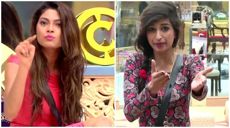 Bigg Boss 10, bigg boss, lopamudra, priyanka jagga, swami om, priyanka lopa fight, family episode, episode summary, indian express news, entertainment, big boss updates