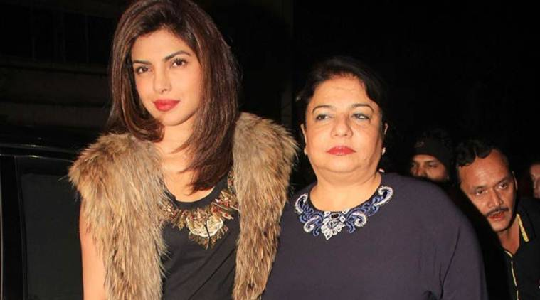 Priyanka Chopra, priyanka chopra baywatch, priyanka chopra mother, priyanka mother on baywatch trailer, baywatch trailer, priyanka chopra hollywood debut. priyanka hollywood debut, priyanka baywatch, priyanka baywatch trailer, priyanka chopra news, priyanka chopra updates, bollywood news, bollywood updates, entertainment news, indian express news, indian express
