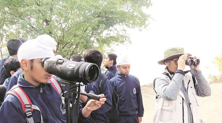 Sukhna Lake, Punjab students watch migratory birds, Punjab news, Latest news, India news, national news
