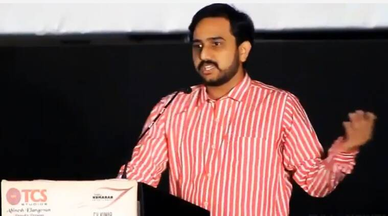 Director R S Prasanna. (Source: YouTube screen-grab)