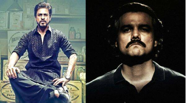 Raees-Narcos trailer mash-up is impressive