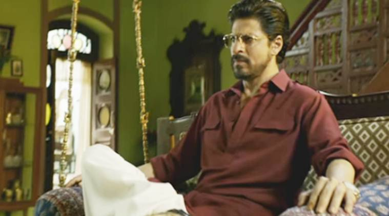 Shah Rukh Khan in and as Raees is impressive and promising.