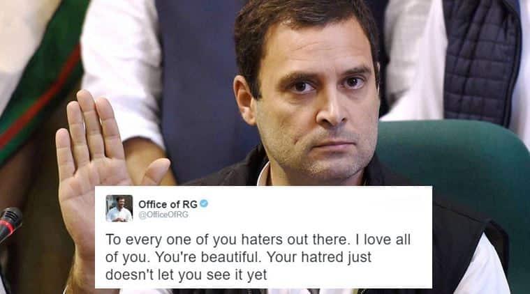 rahul gandhi, rahul gandhi tweets, rahul gandhi viral tweets, rahul gandhi viral tweets 2016, rahul gandhi 3016 viral trending tweets, rahul gandhi tweets of 2016, rahul gandhi legion back tweets, indian express, indian express news, trending, viral
