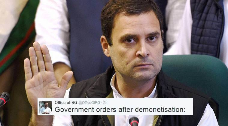 Rahul Gandhi just trolled the government
