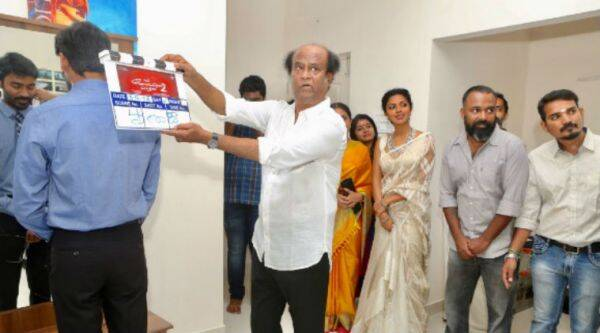 Rajinikanth launches Dhanush-Soundarya's VIP2