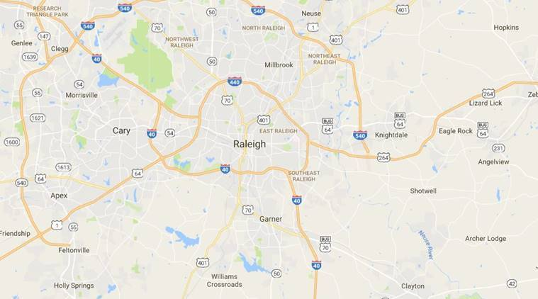 north carolina, north carolina news, north carolina officer wounded, north carolina officer wounder amid gunfire, gunfire north carolina, us news, world news, indian express