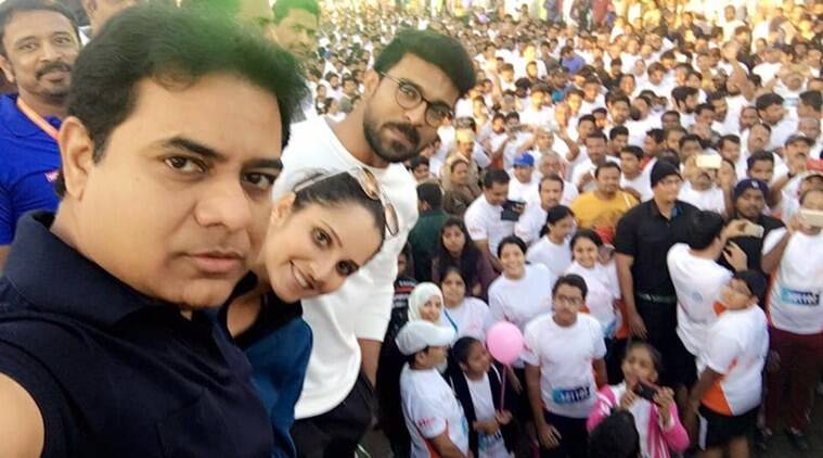 KTR dhruva, ram charan ktr, telangana it minister dhruva event, dhruva launch, dhruva ktr ram charan teja, ram charan dhruva release, dhruva movie, dhruva release, dhruva news, dhruva review, tollywood news, entertainment news