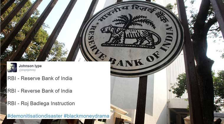 reserve bank of india, rbi, rbi latest rules, rbi latest rule, demonetisation, demonetisation, demonetisation rbi, rbi latest change in demonetisation, rbi rs 5000 limit, rbi rs 5000 withdraw, indian express, indian express news, indian express trending, viral