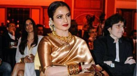 Rekha to play 43-year-old Poorna Jagannath's daughter in Tamilcomeback?