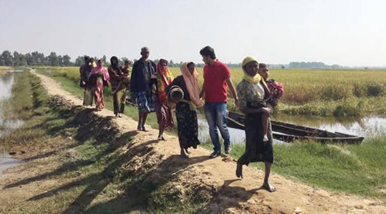 Rohingya Muslims in Myanmar, Rohingya Muslims news, Aung San Suu Kyi, Myanmar insurgents, world news, Myanmar news, International news, indian Express