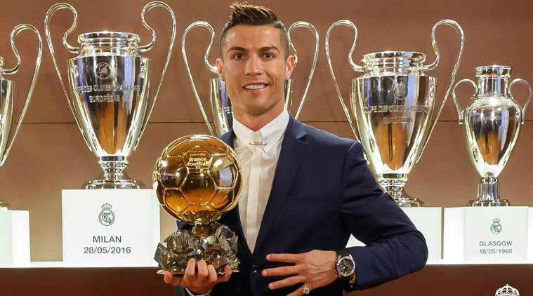 Cristiano Ronaldo wins fourth Ballon d'Or crowning a memorable year