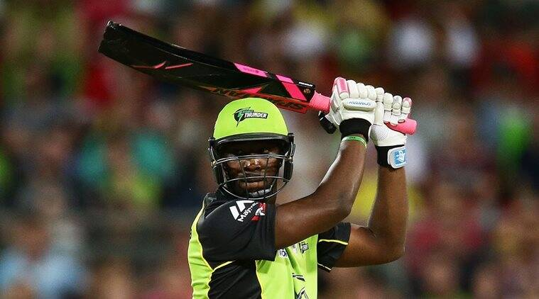 Russell barred from using coloured bat in BBL