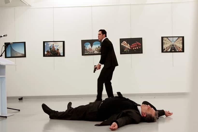 Russia, Russia ambassador, Andrei Karlov, Mevlut Mert Altintas, Altintas Altintas Turkey, Turkey Altintas, Altintas photo, Russian ambassador photos, Ankara, Ankara shooting, Ankara news, turkey news, Russia news, World news