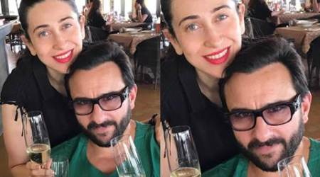 Kareena Kapoor's baby: This is how daddy Saif Ali Khan, maasi Karisma Kapoor celebrated Taimur's arrival, see pics