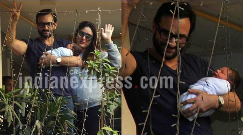 Kareena Kapoor, Taimur Ali Khan, Taimur Ali Khan pics, saif ali khan, Kareena baby pics, Taimur, Taimur ali khan real pics, Kareena Kapoor discharged, saif ali khan, Kareena baby pics