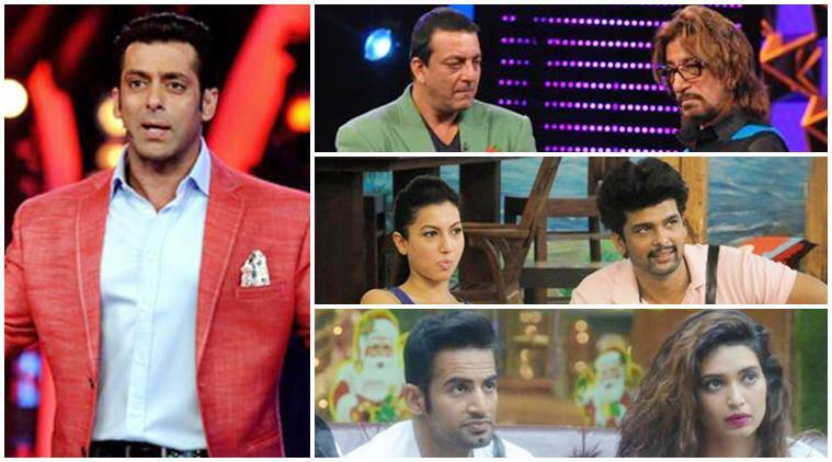 bigg boss, salman khan bigg boss, salman contestants fight, karishm atanna fight salman khan, kushal tandon fight salman khan, imaam siddique salman khan, sapna salman khan, salman khan shakti kapoor fight, slaman khan akashdeep saigal, bigg boss fights, slaman khan fights, swami om salman khan fight, salman khan priyanka jagga, bigg boss 10 news, bigg boss 10 updates, television news, television updates, entertainment news, indian express news, indian express