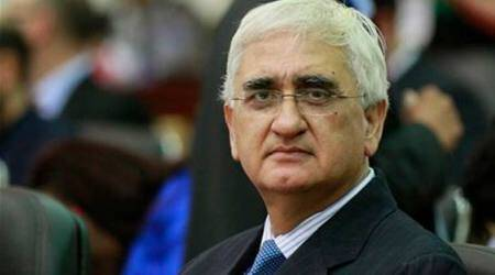 Congress hands stained with Muslim blood: Salman Khurshid