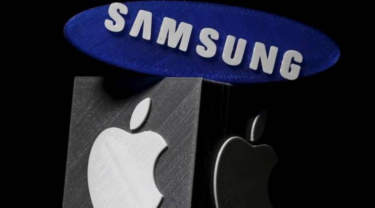 apple and samsung, huawei and samsung, samsung-apple dispute, tech news, latest news, indian express