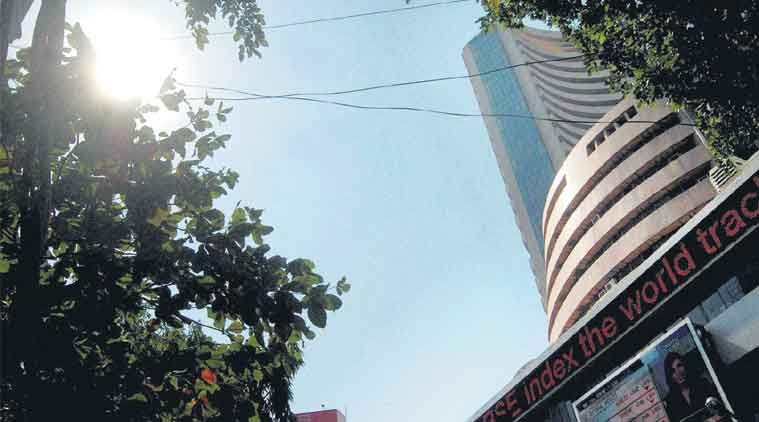 Sensex, Nifty, Sensex points,  BSE index, share market, business news, indian express news