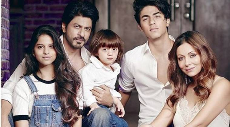 Image result for shahrukh khan and family