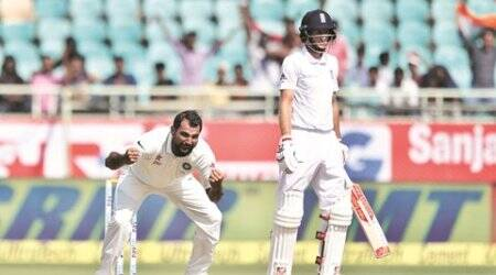 Mohammed Shami, virat kohli, india versus west indies, ind vs WI, cricket, indian express news, sports news, cricket news