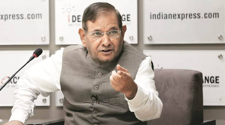 sharad yadav, jd(u) bjp alliance, nitish kumar, jd(U) split, gujarat rajya sabha polls, ahmed patel, election commission