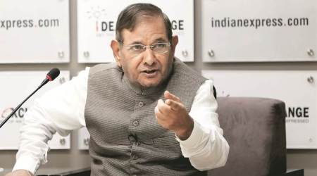 Sharad Yadav, Sharad Yadav on Kashmir, Kashmir, Sonia Gandhi, JDU, Kshmir protests, Kashmir valley situation, Kashmir revolt, indian express news