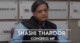 Idea Exchange With Shashi Tharoor