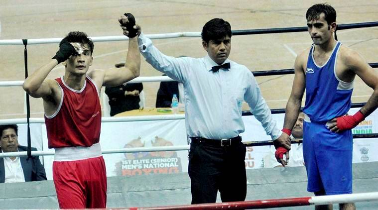 Shiva Thapa, Devendro Singh, Manoj Kumar, Boxing Nationals, Boxing Nationals Championship, Boxing India, Boxing