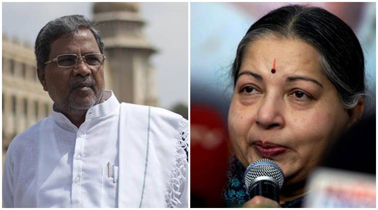 Jayalalithaa, Jayalalithaa death, jayalalithaa dies, jayalalithaa passes away, karnataka jayalalithaa, karnataka morurs Jaya death, Siddaramaiah, Karnataka CM Siddaramaiah, Siddaramaiah jayalalithaa, jayalalithaa demise, jayalalithaa cremation, jayalalithaa news, karnataka news, india news, indian express news