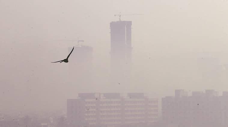mumbai, mumbai winter, mumbai air quality, mumbai pollution, mumbai traffic, global warming, indian express news, india news, mumbai, mumbai news