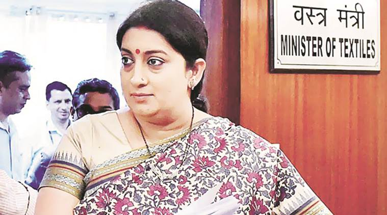 Union Minister Smriti Irani unveils world's largest cushion