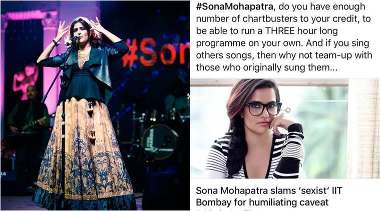 Sona Mohapatra's response to a troll is spot on