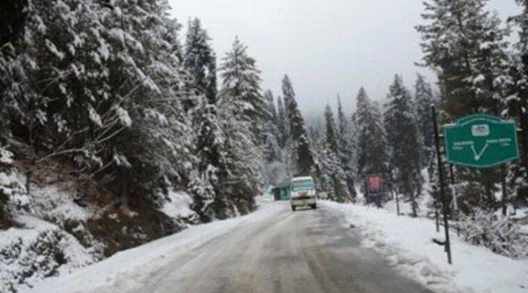 coldest night Srinagar, Srinagar coldest night, temperature in Srinagar, Srinagar temperature, weather in Srinagar, Srinagar weather, Leh Ladakh weather, Leh Ladakh temperature, Kashmir temperature, temperature Kashmir, Srinagar, Jammu Kashmir, Kashmir, India news, Indian Express