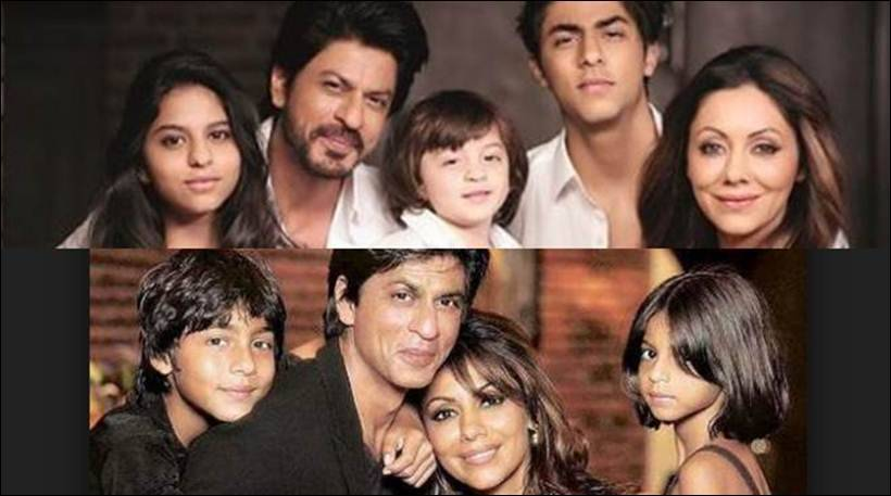 Shahrukh khan with family